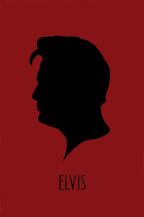 Go Back > Gallery For > Elvis Silhouettes